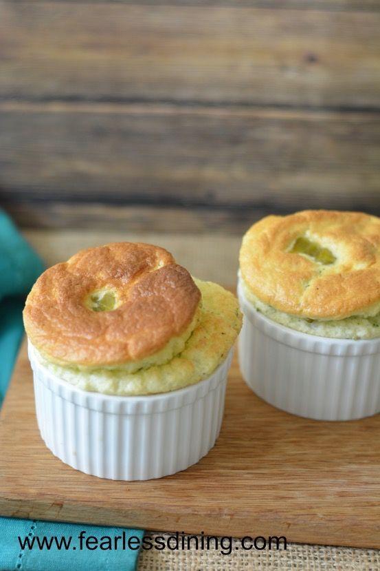 Gluten Free Broccoli Souffles  http://www.fearlessdining.com