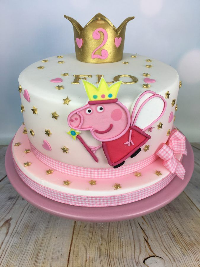 Peppa Pig Birthday Cake.Peppa Pig Birthday Cake In 2019 Peppa Pig Birthday Cake