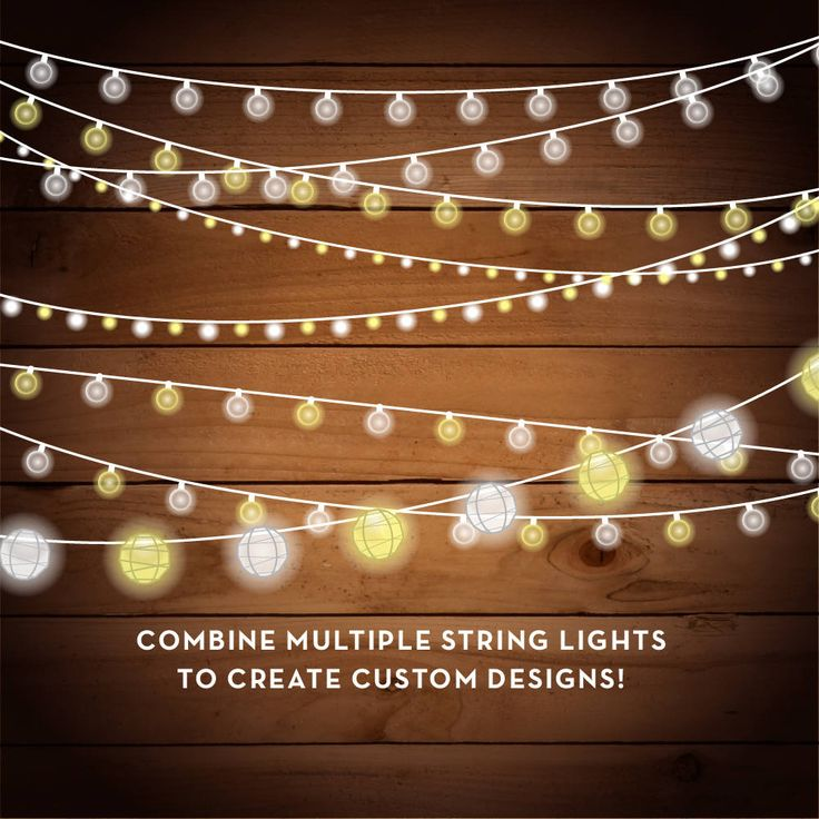 String Of Xmas Lights Clipart: String Lights Clipart