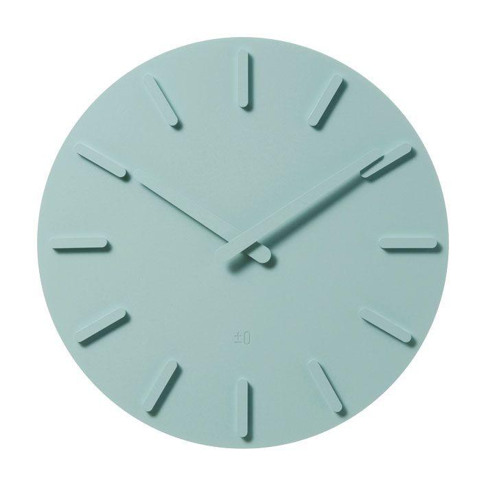 Clock Naoto Fukasawa and plusminuszero mint.