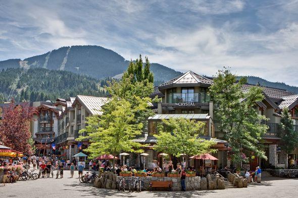 Crystal Lodge, Whistler Canada