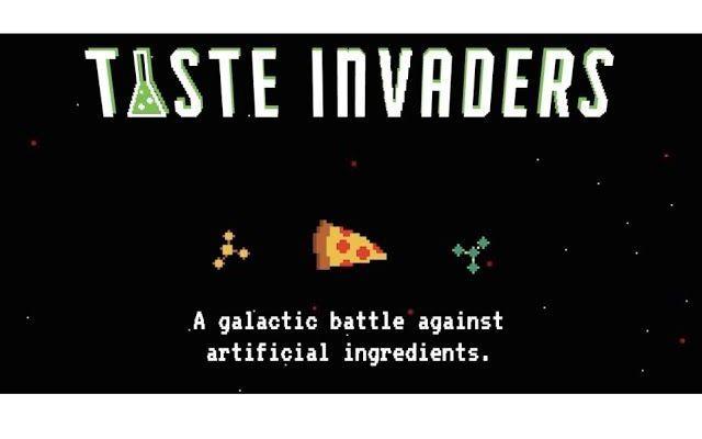 Difendi il cibo con Taste Invaders Ricordate Space Invaders? Uno dei videogame più amati degli anni 80 torna con i suoi pixel per difendere il cibo dall'invasione degli additivi chimici. La versione moderna di Space Invaders torna lan #videogame #cibo #food