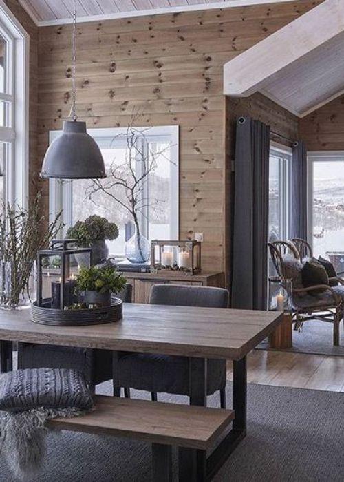 Moderne Chalets So Gelingt Der Style Living Pinterest Cabin