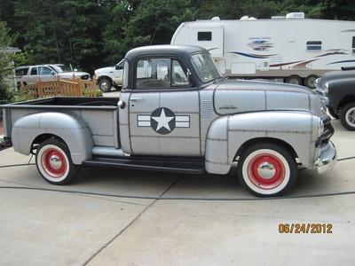 1954 chevy old school truck