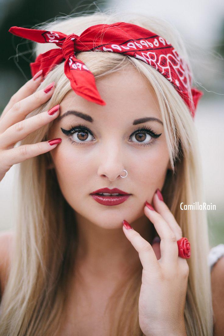 Red Lipstick Photoshoot | www.galleryhip.com - The Hippest Pics Red Lipstick Photoshoot