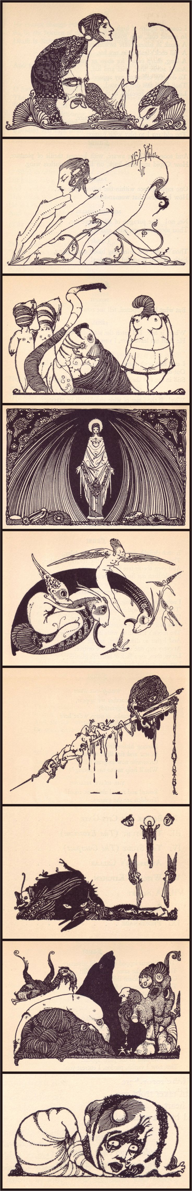 best ideas about goethe s faust zitate german illustrations by harry clarke for a 1925 edition of goethe s faust