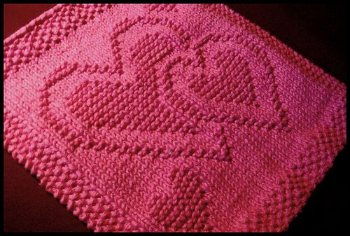 Ravelry: Be My Dishcloth pattern by Kris Knits