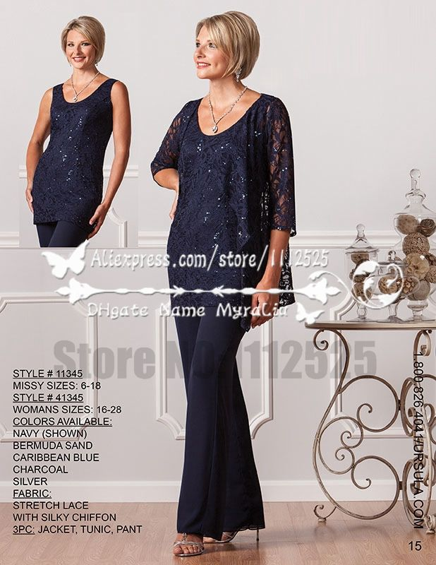 Find More Mother of the Bride Dresses Information about AMP1164 Elegant mother of the bride pant suits with jacket Formal Dark navy lace outfits for mother special wear 2015 new style,High Quality suits discount,China suit button Suppliers, Cheap suit wallets from Mother of the Bride Special Occasion Wear  on Aliexpress.com