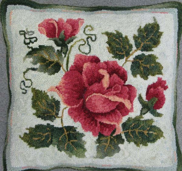 "Rug hooking pattern. Size: 15"" x 15"""