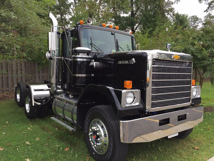 50 best chevy detroit diesel gmc big rigs images on pinterest chevy trucks chevrolet trucks. Black Bedroom Furniture Sets. Home Design Ideas