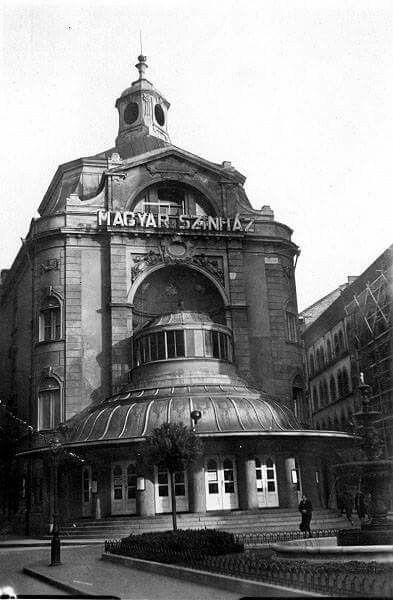 A Magyar Színház...1917