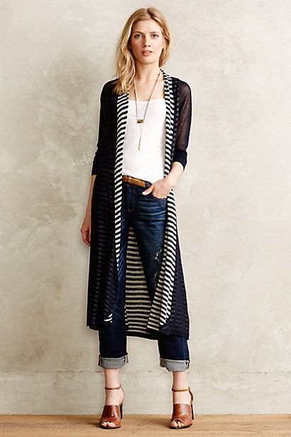Anthropologie EU Eclipsed Stripe Cardigan