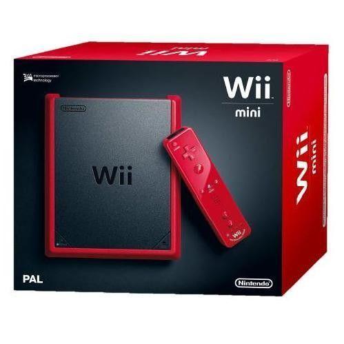 Tamaño mini. Precio mini. Diversión maxi. Consola Wii Mini roja. Disponible en http://tientagael.es/es/consolas-y-videojuegos/974-wii-mini-0045496343118.html