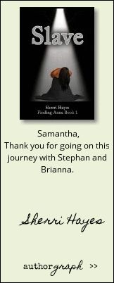 """Authorgraph from Sherri Hayes for """"Slave (Finding Anna Book 1)"""""""