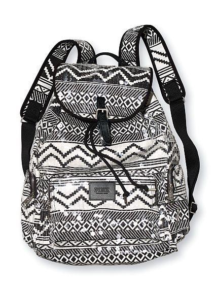 Victoria's Secret PINK: Sequin Backpack
