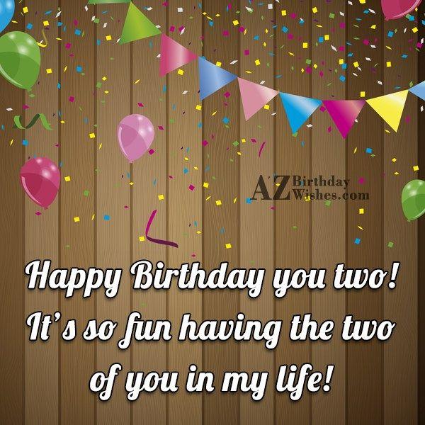 Birthday Wishes For Twins Birthday Wishes For Twins Happy Birthday Wishes Quotes Birthday Boy Quotes