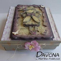Krabička s 3D panenkou Gorjuss