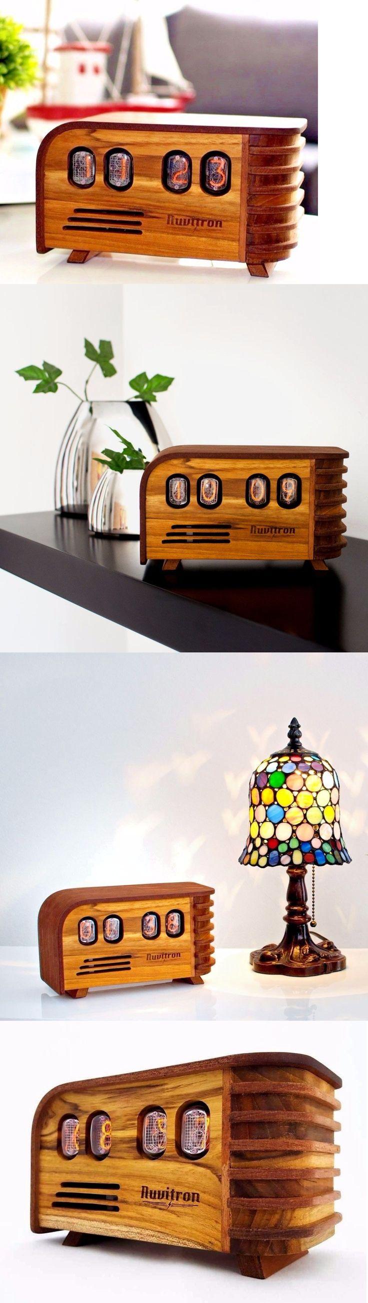 Digital Clocks and Clock Radios: Vintage Nixie Tube Clock Made W Retro In-12 Nixie Tubes - Handmade Nixie Clock -> BUY IT NOW ONLY: $299 on eBay!
