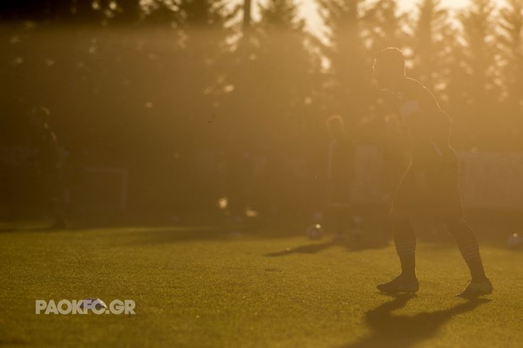 #training #sun #PAOK #art