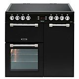 Leisure Electric Range Cooker with Electric Hob, CK90C230S | Departments | DIY at B&Q