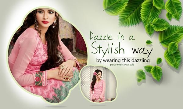 Buy designer party wear salwar suits online India from a leading online shopping store newshop.in. Newshop presents you all latest and trendy designer salwar suits at very fair and reasonable price. All types of ethnic wear like Patiala salwar suit, anarkali suit, cotton salwar suit, casual salwar suit, gawns, bridal lehenga, wedding saree, formal saree and many more are available at newshop.