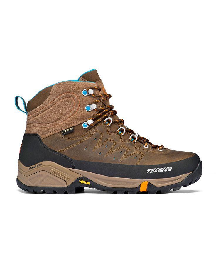 Aconcagua II LHP GTX MS Marrone Tecnica : Chaussures randonnée homme : Snowleader