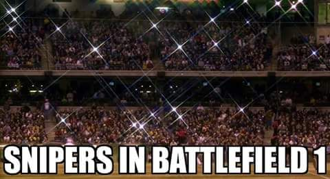 Sniper in Battlefield 1