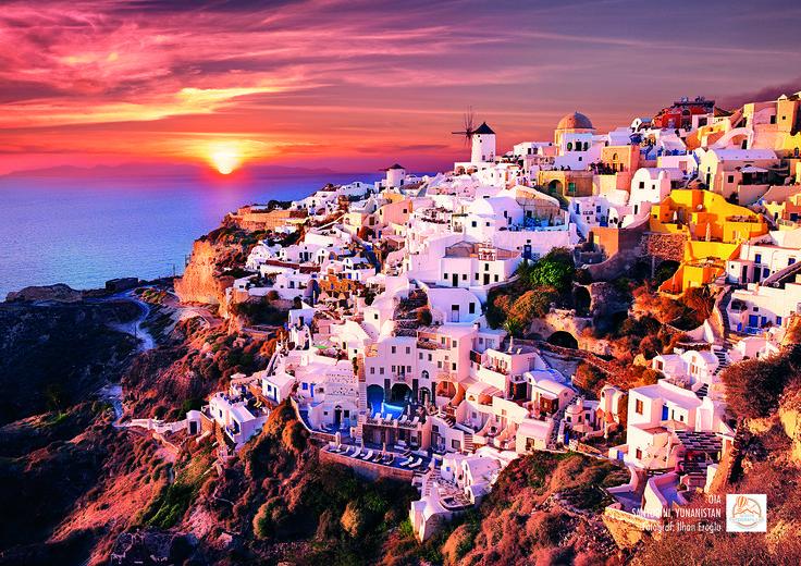 Oia, Santorini, Yunanistan. Fotoğraf: İlhan Eroğlu.