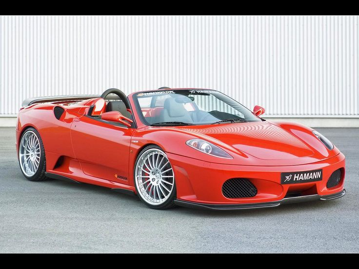 Ferrari F430 Spider I typically don't care for the European cars but I love this one:)