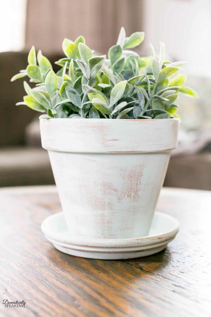 Diy Aged Terracotta Pot Thrift Store Diy Projects Diy Terra Cotta Pots Thrift Store Crafts