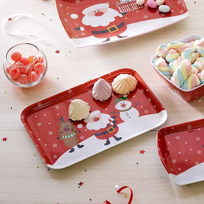 Los accesorios en tu mesa son indispensables para darle ese toque navideño a tus ambientes #Sodimac #Homecenter.