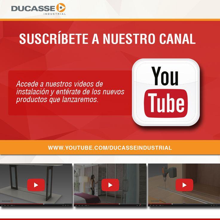 Conoce y suscribete en nuestro canal de Youtube, y accede a nuestra gama de vídeos