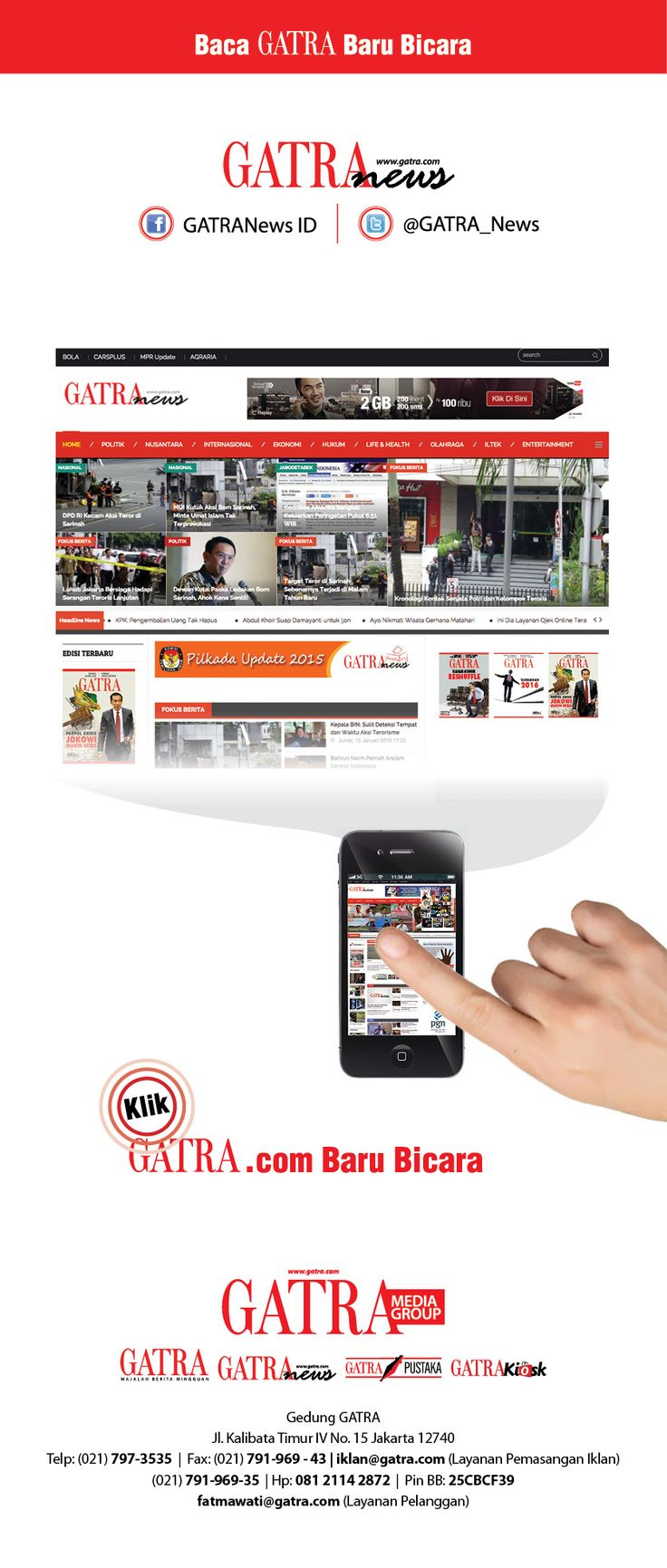Desain Promosi:  GATRA Digital vrsion