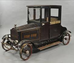 Very rare Tall T pedal car