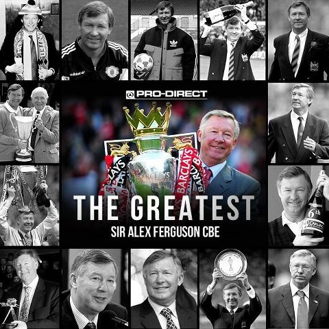 Big.. no HUGE news today!! Manchester United have confirmed that Sir Alex Ferguson IS retiring at the end of this season!!  26 years, 1498 matches, 13 League Titles, 5 FA Cups, 2 Champions Leagues, 10 Community shields, 1 Club World Cup, 4 League Cups - Man Utd Fan or not.. that's one heck of a record!!  Who is man enough to fill his shoes? Moyes or Mourinho??
