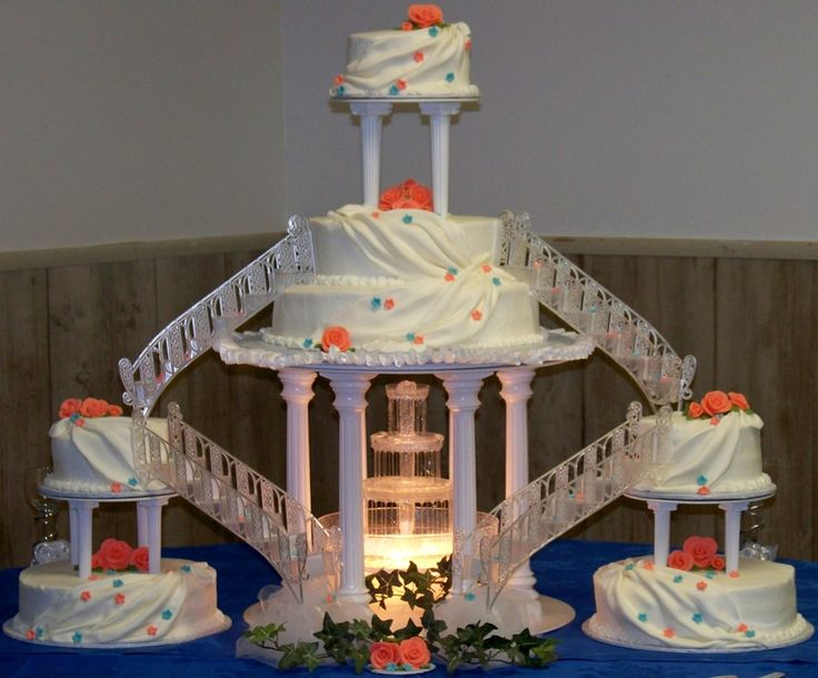 wedding cakes with fountains and bridges 181 best pasteles con escaleras images on 26025