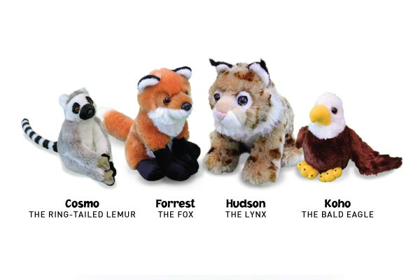 Tis the season for family, friends and giving and now you can give a gift that helps support environmental education and the protection of animals by shopping at The Earth Rangers Shop http://www.theearthrangersshop.com/collections/animal-ambassador-plushies