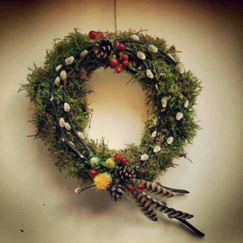 Not just for christmas...  #autumnwreath #fallwreath #doorwreath