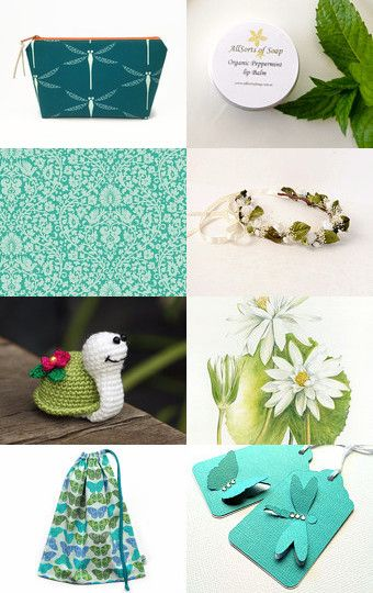 Down By The Lily Pond by Katrina on Etsy--Pinned with TreasuryPin.com