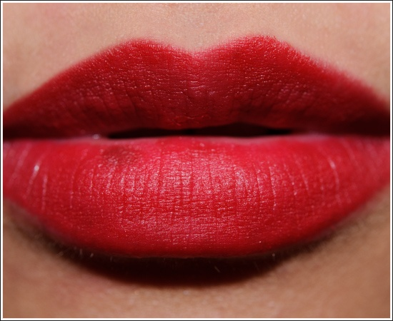 MAC Ruby Woo Lipstick-- even though it makes my lips look 2x bigger still LOVE this color.