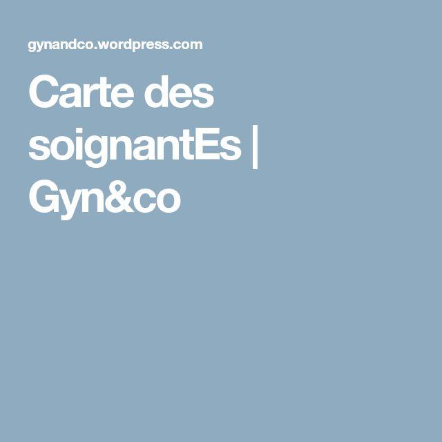 Carte des soignantEs   Gyn&co