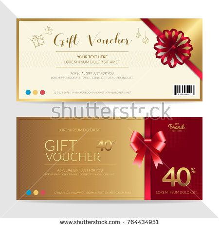 61 best Gift card \ Discount voucher images on Pinterest - gift certificate voucher template