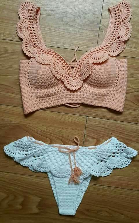 Crochet top bottoms