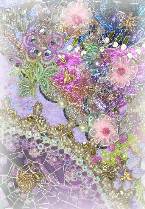 Crazy Quilting and Embroidery Blog by Pamela Kellogg of Kitty and Me Designs: CrazyQuilt Classes