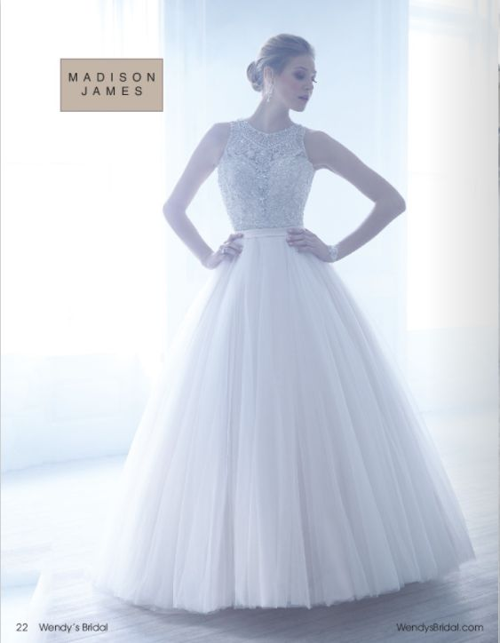 Madison James Wedding Dress at Wendy's Bridal