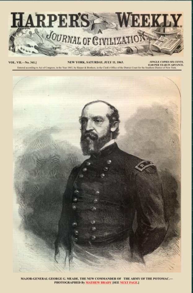 Account of the accomplishments of general george meade