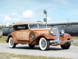 Chrysler CL Imperial Dual Windshield Phaeton – 1933