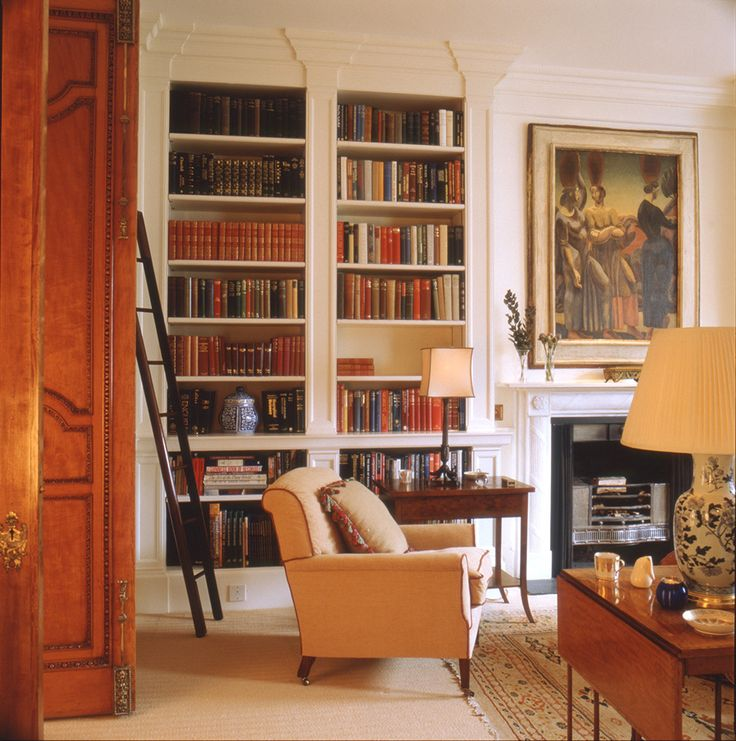 Library Holland Park London Todhunter Earle Interiors