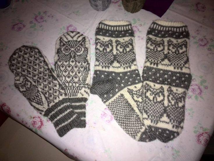 uglevotter og sokker