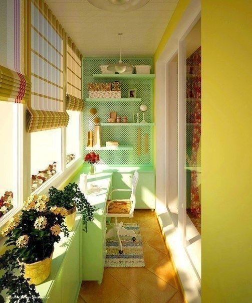 Идеи для балконов и лоджий - Дизайн интерьеров | Идеи вашего дома | Lodgers